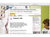 Bild: Die Deutsche Telekom gibt sich bei Twitter und Facebook als Support-Musterschüler. (Bild: Netzwelt)