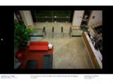 Bild: Im Eingangsbereich sind Laser vorhanden, um die Ausweise zu kontrollieren. (Bild: Techcrunch)