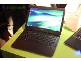 Bild: Das Ultrabook verfügt über einen 13,3 Zoll großen Bildschirm.