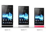 Bild: Sony erweitert seine Xperia NXT-Serie um die Modelle Xperia P und Xperia U. (Bild: Sony)