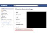Bild: Die Möglichkeit eine Kopie der eigenen Daten herunterzuladen, finden Nutzer in den Kontoeinstellungen bei Facebook. (Bild: Screenshot Facebook.com; Montage: netzwelt)