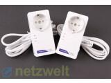 Bild: Wie bei den Herstellern üblich, legt auch Netgear seinem Set Ethernet-Kabel bei. (Bild: netzwelt)