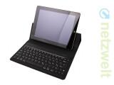 Bild: Das Folio von Kensington ist mit allen drei iPads kompatibel. (Bild: netzwelt)