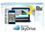 Bild: Microsoft stellt sieben Gigabyte Speicherplatz kostenlos für SkyDrive-Nutzer bereit. (Bild: Screenshot windowslive.de)