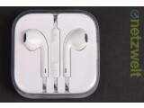 Bild: Durchsichtig verpackt: Leider ist die Plexiglasbox der EarPods nicht für den Dauereinsatz konzipiert. (Bild: netzwelt)