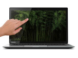 Bild: Das Touch-Display des KIRAbook von Toshiba bietet eine ähnlich hohe Auflösung wie Apples MacBook Pro mit Retina-Display. (Bild: Toshiba)