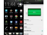 Bild: Der Batteriestatus des HTC One lässt sich nach dem Update auch mit Prozent anzeigen. (Bild: Android Revolution HD)