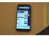 Bild: Das Display des LG G2 misst in der Diagonale 5,2 Zoll. (Bild: netzwelt)