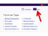 """Bild: Besuchen Sie in Ihrem Webbrowser die Webseite von <a href=""""http://www.yahoo.de"""" target=""""_blank"""">Yahoo</a> und klicken Sie oben rechts auf den Link """"Mail"""". (Bild: Screenshot)"""