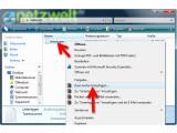 """Bild: Um eine vorhandene Datei mit WinRAR zu verkleinern, navigieren Sie im Windows Explorer zu dem Verzeichnis, in dem sich die Datei befindet. Wählen Sie eine oder mehrere Dateien aus und klicken Sie diese mit der rechten Maustaste an. Optional komprimieren Sie an dieser Stelle auch ganze Ordner. Im Kontextmenü des Windows Explorers wählen Sie """"Zum Archiv hinzufügen…"""". (Bild: Screenshot)"""