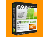 Bild: AVS Registry Cleaner Softwareicon, Logo
