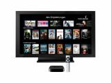 Bild: Mit der Streaming-Box Apple TV lässt sich Watchever auch auf dem Fernseher bringen.