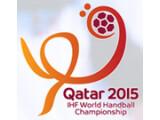 Bild: Handball WM 2015 in Qatar.