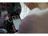 Bild: ZTE stellt mit dem Grand S3 ein Smartphone vor, dass ebenfalls mit einer Art Iris-Scanner ausgestattet ist.