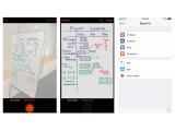 Bild: Microsofts Office Lens im Einsatz auf dem iPhone.