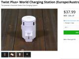 Bild: Stacksocial: Power-Adapter im Angebot.