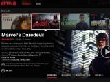 Bild: Das neue Netflix-Layout: visueller, mehr wie eine App.
