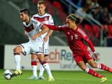 Bild: Emre Can im Spiel gegen Dänemark, das Deutschland mit 3:0 gewann.