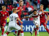 Bild: Knappe Sache, aber das Unentschieden gegen Tschechien reichte der deutschen U21-Mannschaft für den Einzug EM-Halbfinale.