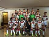 Bild: Die deutsche U19-Elf: Im zweiten Gruppenspiel wartet die Niederlande.