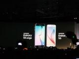 Bild: Ohne Umschweife enthüllt Samsung seine beiden neuen Top-Smartphones Galaxy S6 Edge und Galaxy S6.