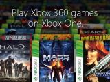 Bild: Die Xbox One kann nun auch Xbox 360-Titel wiedergeben.