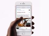 Bild: Apple führt mit dem iPhone 6S das 3D Touch-Display ein.