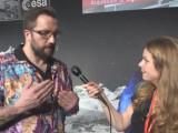 Bild: Das Hemd von ESA-Forscher Matt Taylor gibt im Netz Anlass zu Diskussionen.