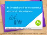 Bild: Motorola lädt zu einer Produktpräsentation am 28. Juli.