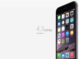 Bild: Am 19. September erscheint das iPhone 6 mit 4,7 Zoll in Deutschland.