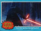 Bild: Im Kartenformat werden die Namen einiger Star Wars-Charaktere vorgestellt.