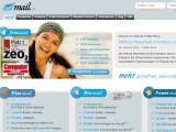 Bild: Vier verschiedene E-Mail-Produkte bietet mail.de an - ein Freemailer ist darunter.