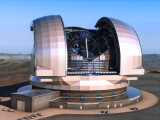 Bild: Grafik: Das Teleskop kostet in der ersten Bauphase eine Millarde Euro.