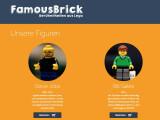Bild: Das deutsche Startup FamousBrick hat Steve Jobs und Bill Gates als Lego-Figuren auf den Markt gebracht.