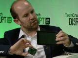 Bild: Auf der Disrupt in London wurde der erste Touchscreen für den Raspberry PI vorgestellt.
