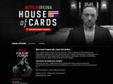 Bild: House of Cards - Hauptdarsteller Kevin Spacey holte einen Golden Globe für die Netflix-produzierte US-Serie.