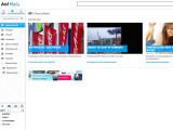 Bild: AOL Mail: Wie bei den meisten Werbeanbietern nicht werbefrei.