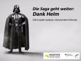 Bild: Darth Vader ist ein berühmter Helmträger.