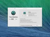 Bild: Unter OS X ist ein Backup schnell per Time Machine erstellt.