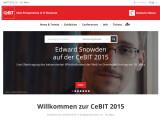 Bild: Edward Snowden wird sich auf der CeBIT 2015 einem Interview stellen.