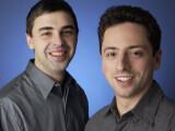 Bild: Larry Page und Sergey Brin, CEO und Google-Mitgründer: Jetzt will das Interunternehmen auch eine Mobilfunkmarke gründen.