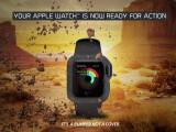 Bild: Bumper ist eine über die Crowdfunding-Plattform Indiegogo erfolgreich finanziertes Apple Watch-Hülle für raue Umgebungen.