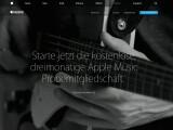 Bild: Apple Music ist gestartet - drei Monate lang kann der Dienst gratis getestet werden.
