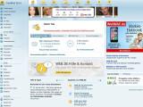 Bild: E-Mail-Postfach bei Web.de: Viel Werbung für die eigenen Produkte und kooperierende Angebote.
