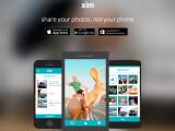 Bild: Mit Xim brauch nur der Absender die App installiert zu haben. Empfänger können die Fotos auch ohne App betrachten.