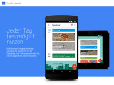 Bild: Der neue Google-Kalender für das Android-Smartphone soll Zeit einsparen, indem du deine Termine schneller erfassen kannst.