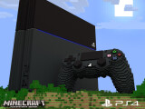Bild: Minecraft ist ab sofort auch auf der PS4 erhältlich.