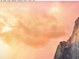 Bild: Der virtuelle Schreibtisch auf dem Mac lässt sich noch einfacher nutzen als der Desktop auf Windows-Rechnern.