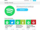 Bild: Auch Spotify hat jetzt einen Kanal auf dem Automatisierungsdienst IFTTT.