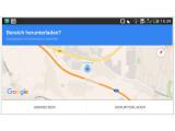 Bild: Google Maps lässt sich auf mobilen Geräten auch ohne bestehende Internetverbindung nutzen.